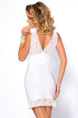 Белая кружевная женская сорочка