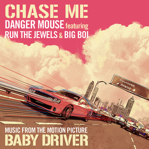 Danger Mouse Featuring Run The Jewels And Big Boi / Chase Me (12