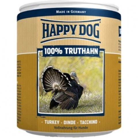 HAPPY DOG 100% МЯСО ИНДЕЙКА - 0,4 КГ-6ШТ 0.4 кг