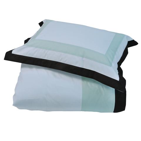 Постельное белье 2 спальное евро макси Casual Avenue Soho Frame светло-зеленое