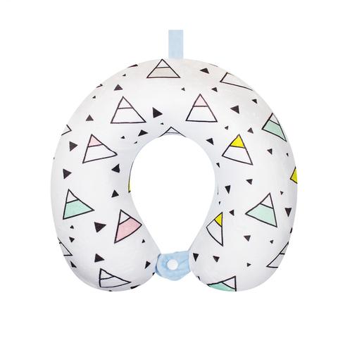 Подушка дорожная Triangles