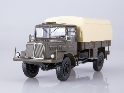 Tatra 128N flatbed truck with awning 1:43 Start Scale Models (SSM)