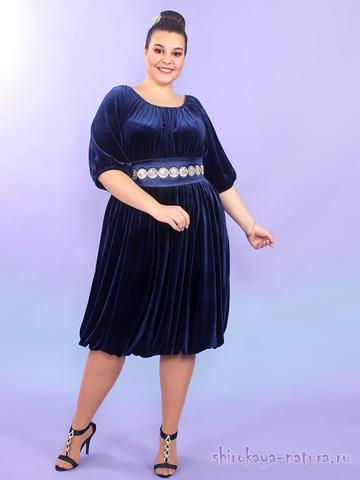 Велюровое платье Джелана