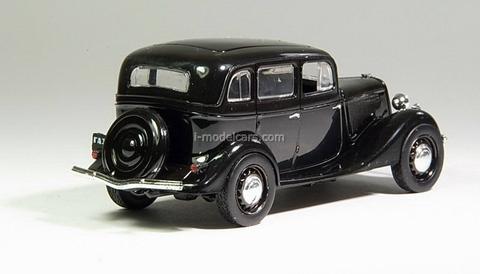 GAZ-M1 black 1:43 DeAgostini Auto Legends USSR #34