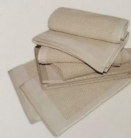 Набор полотенец 2 шт Caleffi Confort бежевый