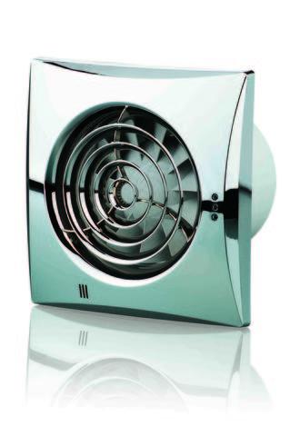Вентилятор накладной Vents 100 Quiet Chrome (Хром)