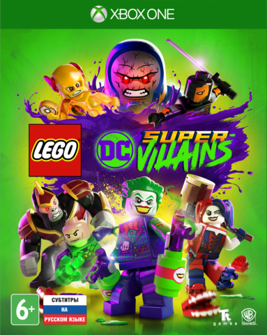 Microsoft Xbox One LEGO DC Super-Villains (русские субтитры)
