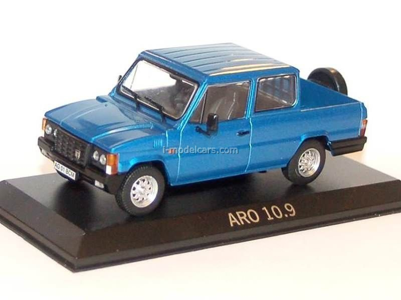 ARO 10.9 blue 1:43 DeAgostini Masini de legenda #82