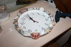 Часы для морского декора
