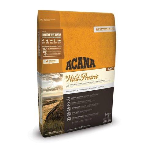 Acana Regionals Wild Prairie Cat корм беззерновой для кошек (курица) 5,4кг
