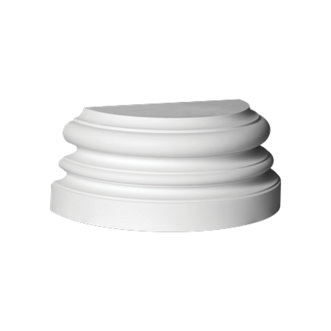 База (полуколонна) Европласт из полиуретана 4.47.201, интернет магазин Волео