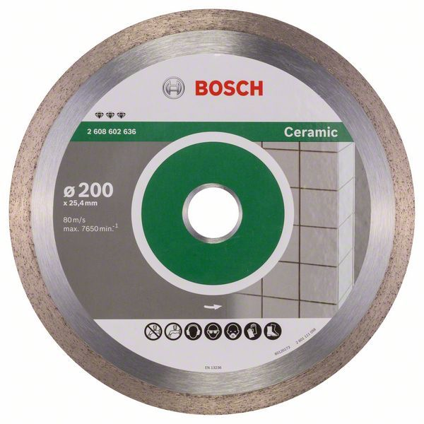 Алмазный диск Best for Ceramic 200-25,4 Bosch 2608602636