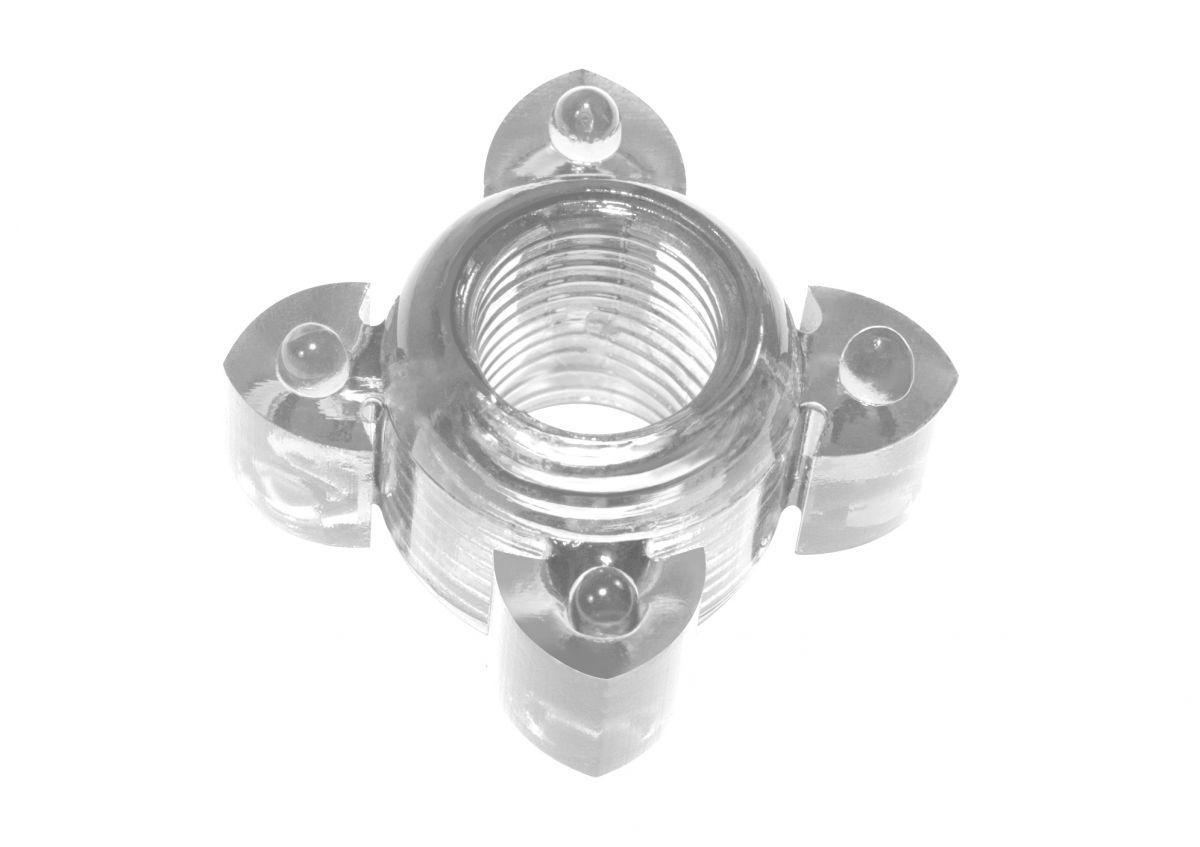Эрекционные кольца: Прозрачное эрекционное кольцо Rings Screw