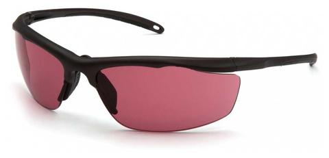 Очки баллистические стрелковые Pyramex Zumbro VGSBR227T Anti-fog красные 23%