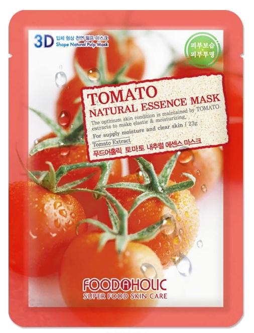3D Маска с натуральным экстрактом томатом (ткан.) 23г