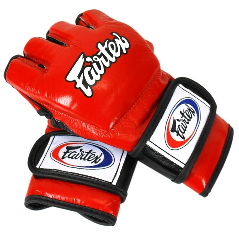 Перчатки MMA Fairtex Gloves FGV12 Red