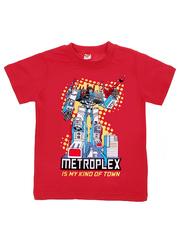MK002F-17 футболка детская, красная