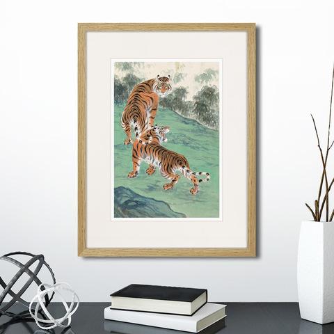 Чжан Ю - DOUBLE TIGERS, 1947г.