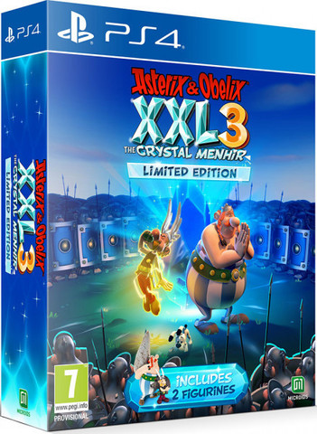 PS4 Asterix&Obelix XXL 3 - The Crystal Menhir Limited Edition (русская версия)