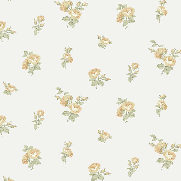 Обои Aura English Florals G34345, интернет магазин Волео