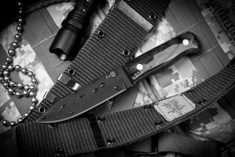Туристический нож Т-1 Темный Орех z160