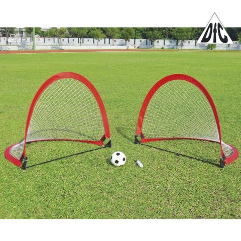 Ворота игровые DFC Foldable Soccer (Red)