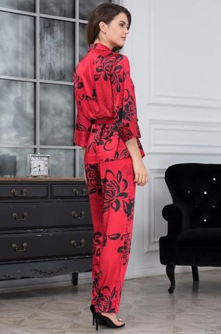 Комплект женский с брюками Mia-Amore DA VINCI Да Винчи 8446 красный