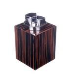 Зажигалка настольная Howard Miller Эбеновое дерево (серебро)