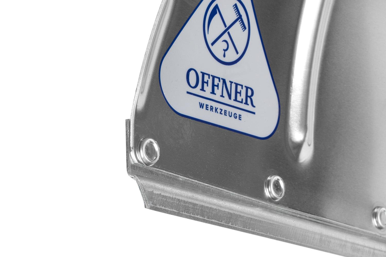 Лопата для уборки снега алюминиевая OFFNER