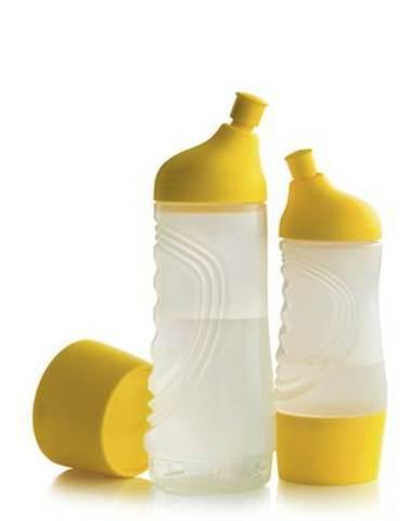 Бутылка спортивная 750 мл  и 475мл в жёлтом цвете.