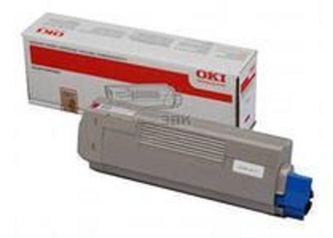 OKI C610 тонер-картридж magenta пурпурный (44315322, 44315306 ) ресурс 6000 копий.