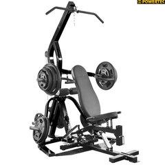 Силовой тренажер Powertec Lever Gym TM WB-LS14-B, цвет черный