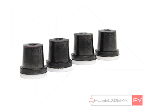 Сопла керамические для камер набор 2; 2,5; 3; 3,5 мм