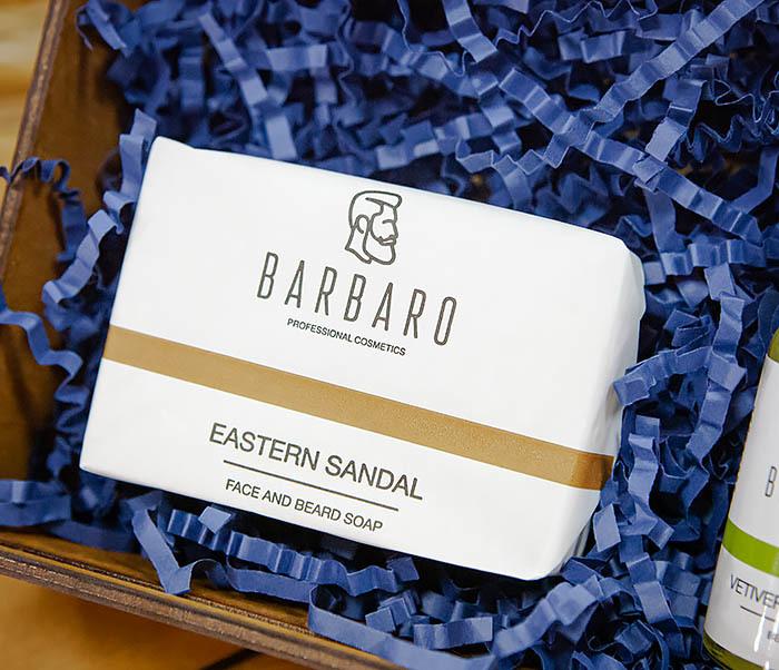 Набор для ухода за бородой с мылом и маслом Barbaro «Vetiveria Odorata» фото 02