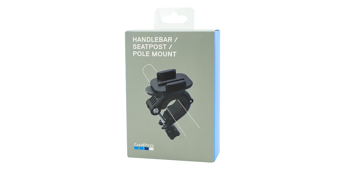 Крепление на руль/подседельный штырь/лыжные палки GoPro Handlebar / Seatpost / Pole Mount (AGTSM-001) упаковка