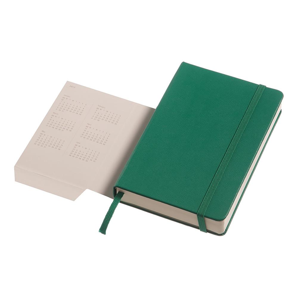 Ежедневник Moleskine Classic Daily Pocket, цвет зеленый малахит