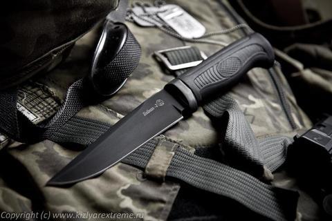 Тактический нож Байкал-2 Черный Эластрон