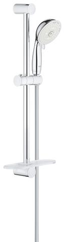 New Tempesta Rustic 100 IV Душевой гарнитур с полочкой, душевая штанга 600 мм