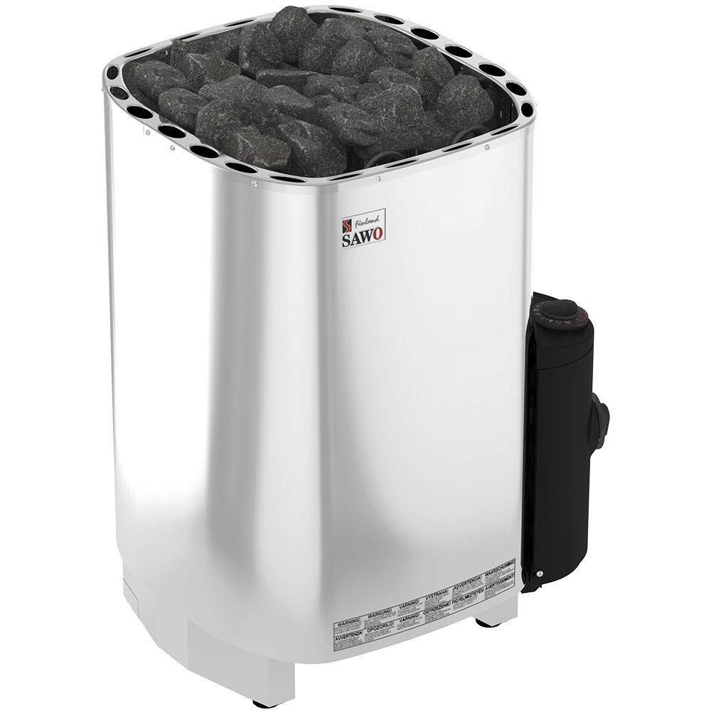 Серия Savonia: Электрическая печь SAWO SAVONIA SAV-90NB-Z (9 кВт, встроенный пульт, внутри оцинковка, снаружи нержавейка) цена