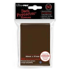 Ultra Pro - Коричневые протекторы 50 штук