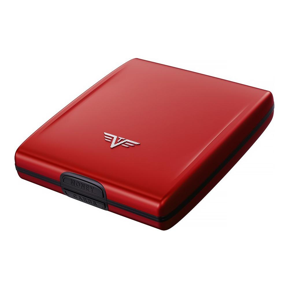 Кошелек c защитой Tru Virtu BELUGA, цвет красный, 107*93*22 мм