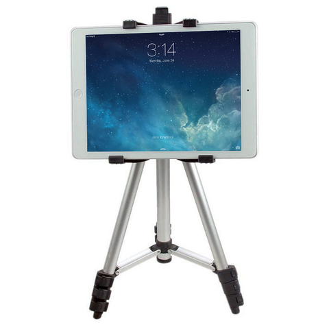 Телескопический штатив с креплением для планшета