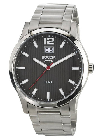 Купить Мужские наручные часы Boccia Titanium 3580-02 по доступной цене
