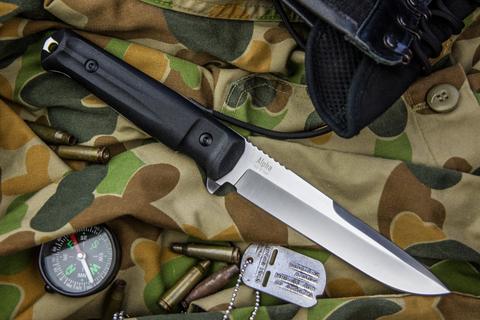 Тактический нож Alpha AUS-8 Stonewash