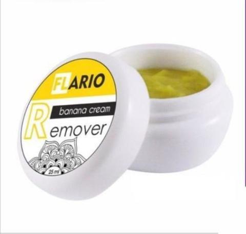Кремовый ремувер Flario с ароматом Банана, 15 мл