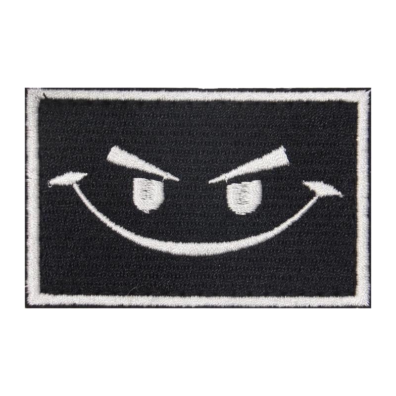 Шеврон улыбка №1