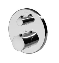 Смеситель для ванны и душа AM.PM GEM F9075600 монтируемый в стену с термостатом