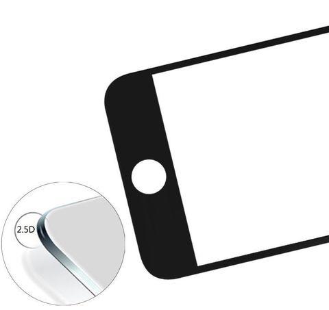 Защитное стекло с окантовкой для IPhone 7(черное и белое)