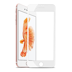 Защитное 3D-стекло для iPhone 7 Plus White - Белое