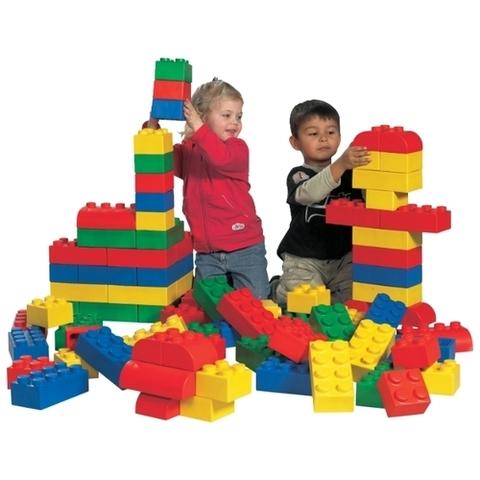 LEGO Education: Мягкие кирпичи Lego Soft:  Базовый набор 45003 — Soft Starter Set — Лего Образование Эдукейшн